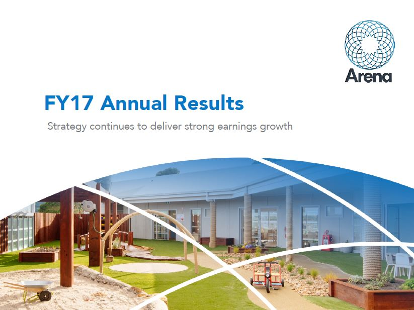 Arena REIT FY17 Annual Results presentation