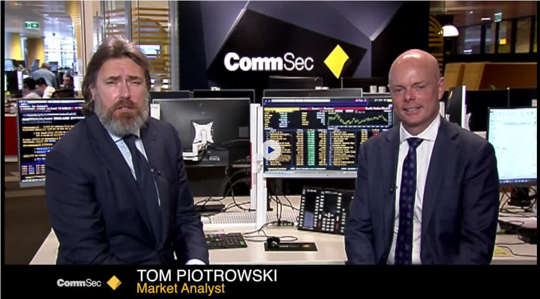 CommSec 'The Executive Series' interview